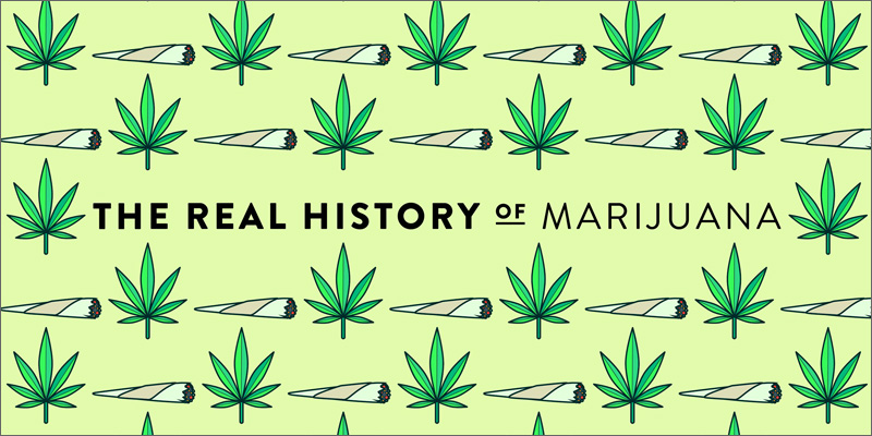 real history of marijuana