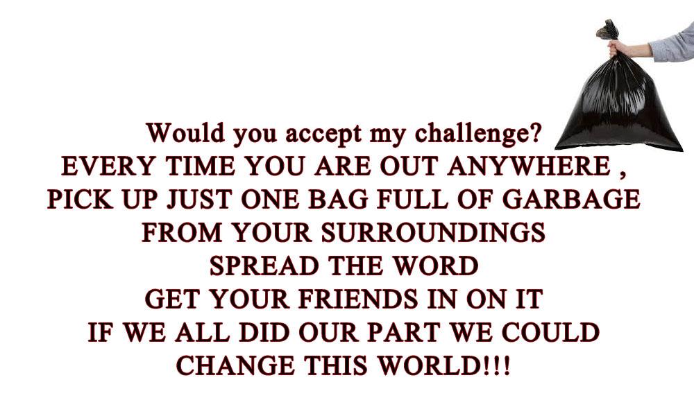 Garbage challenge