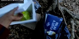 Video: Trash That was Left Behind At A Beach In Puerto Rico Before being Shot At My Head
