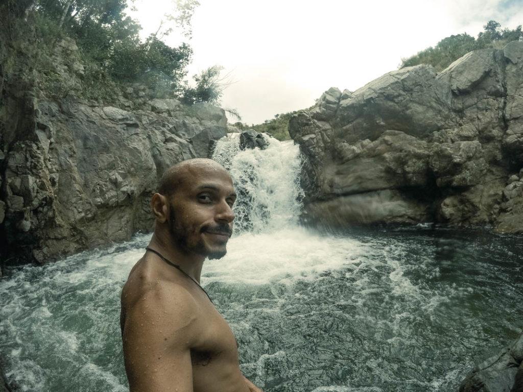 wild river waterfall
