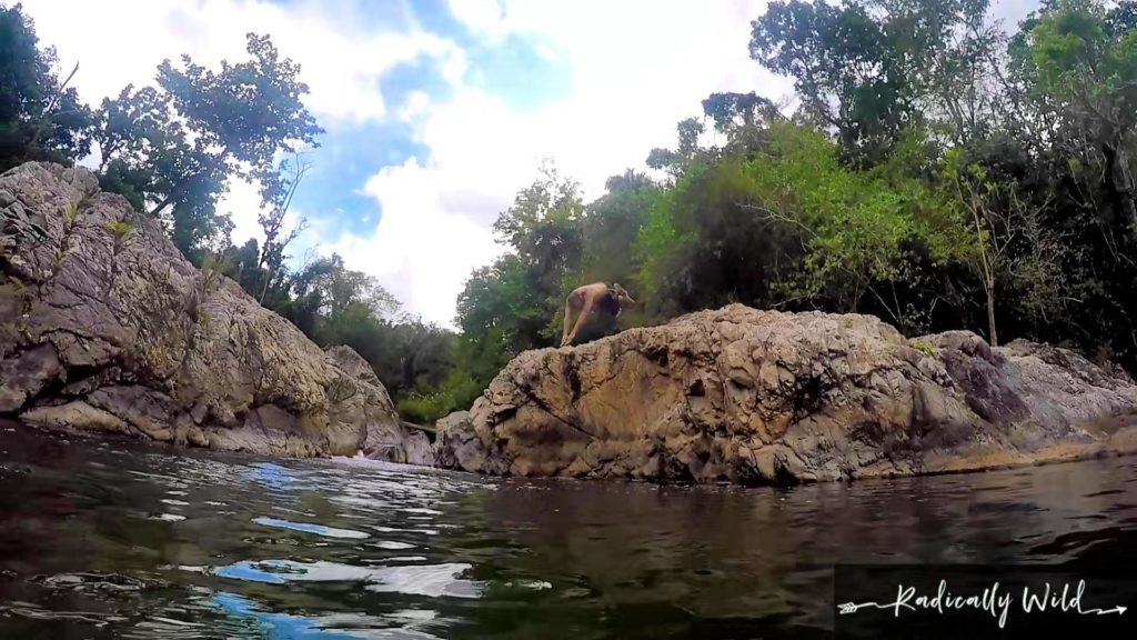 Radically Wild Fail: Diving In Head First At A River In Puerto Rico #1