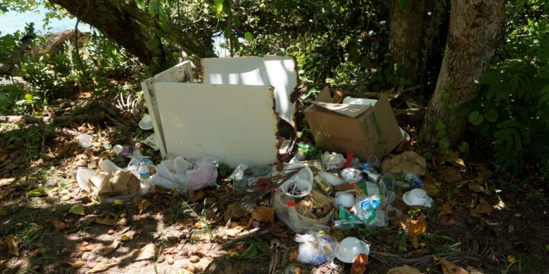 families in puerto rico garbage